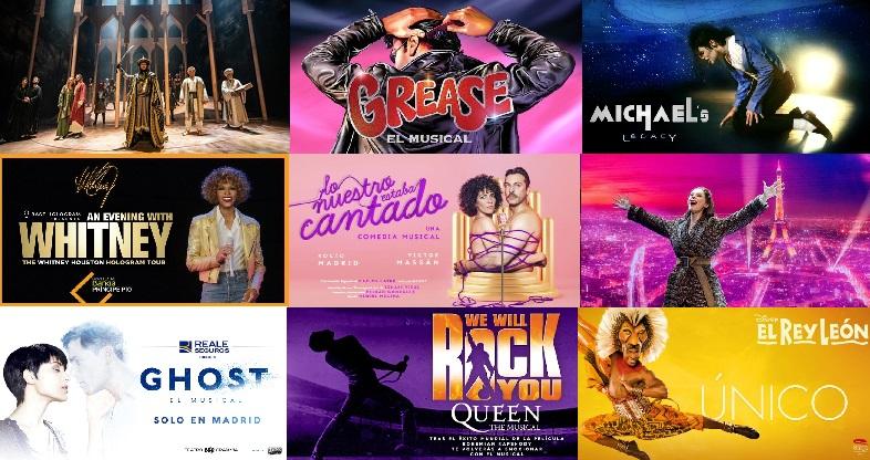 Imagenes de Musicales en la cartelera madrileña