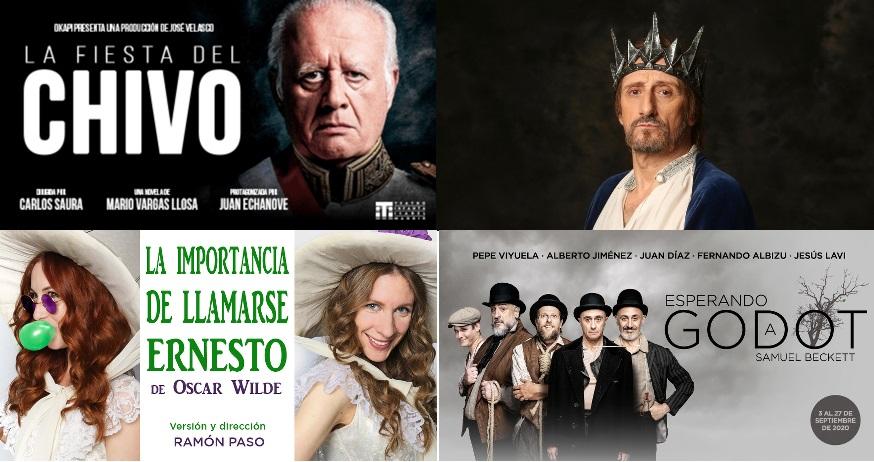 Imagenes de teatro en la cartelera madrileña
