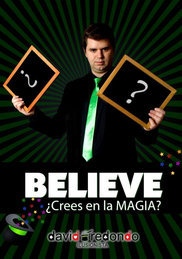Ir al evento: Believe ¿Crees en la MAGIA?