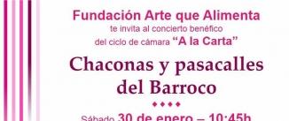Ir al evento: Chaconas y pasacalles del Barroco