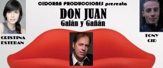 Ir al evento: Microteatro: Don Juan Galán y Gañán