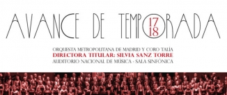 Ir al evento: ORQUESTA METROPOLITANA DE MADRID. ABONO TEMPORADA 2017-18