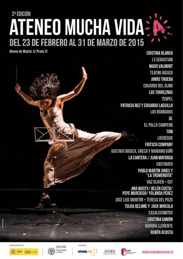 Ir al evento: Dia 27 Festival Ateneo  Madrid Mucha Vida (2ª edición). Pablo Martín Jones y