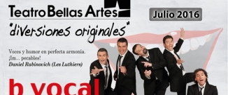 Ir al evento: DIVERSIONES ORIGINALES - CON B DE VOCAL