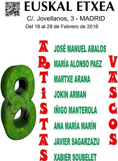 Ir al evento: 8 artistas vascos