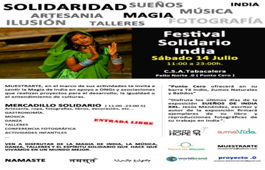 Ir al evento: Festival Solidario India