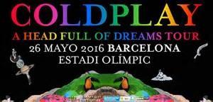 Ir al evento: CONCIERTO COLDPLAY Barcelona