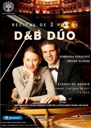 Ir al evento: D&B Duo: Concierto de dos pianos