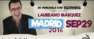 Ir al evento: DE VENEZUELA CON AMOR - Laureano Márquez