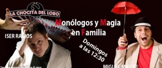 Ir al evento: MONÓLOGOS Y MAGIA EN FAMILIA - MIGUEL MIGUEL