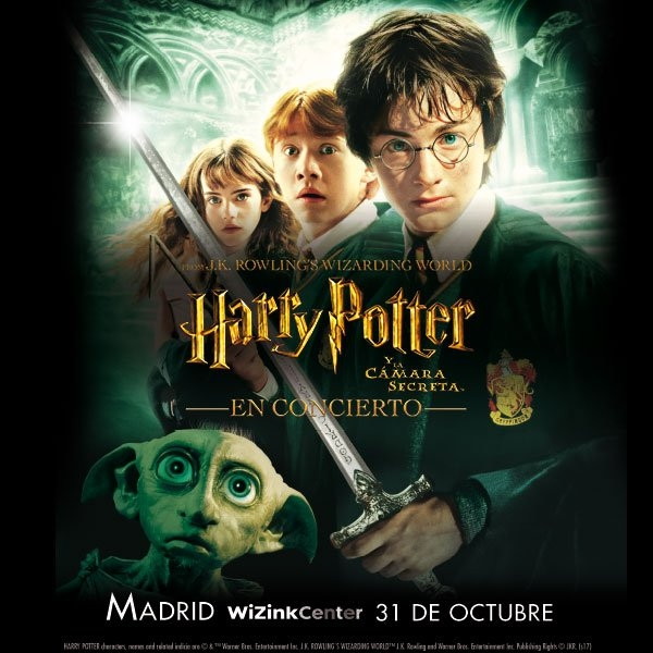 Ir al evento: HARRY POTTER Y LA CAMARA SECRETA EN CONCIERTO