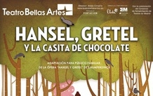 Ir al evento: HANSEL, GRETEL Y LA CASITA DE CHOCOLATE