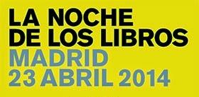 Ir al evento: LA NOCHE DE LOS LIBROS 2014
