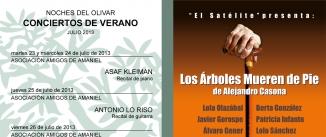 Ir al evento: LOS ÁRBOLES MUEREN DE PIE
