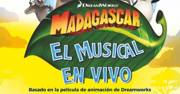 Ir al evento: MADAGASCAR El musical