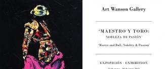 Ir al evento: 'Maestro y toro: Nobleza de pasión' EN EL HOTEL WELLINGTON C/Velázquez,8 junto al Retiro