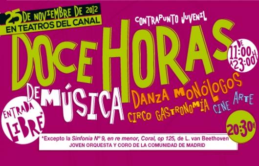 Ir al evento: Maratón Contrapunto Juvenil en Teatros del Canal
