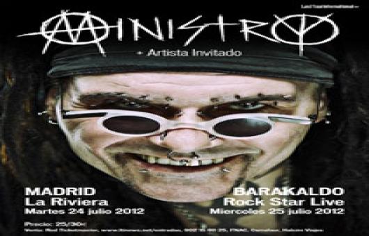 Ir al evento: Ministry en concierto