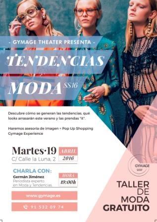 Ir al evento: Taller gratis de tendencias de moda