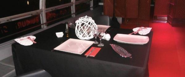 Ir al evento: Cena privada a bordo del THE RIVER OF LOVE