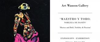 Ir al evento: Exposición 'Maestro y toro' Nobleza de pasión