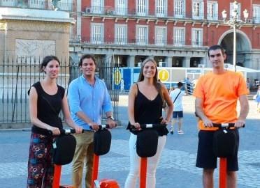 Ir al evento: Visita por el Madrid histórico en Segway