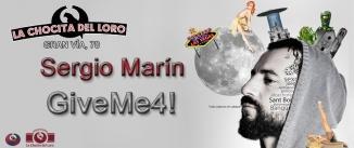 Ir al evento: Give me 4 - SERGIO MARÍN