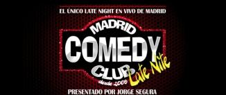 Ir al evento: MADRID COMEDY CLUB LATE NITE