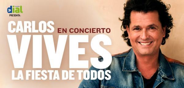 Ir al evento: CARLOS VIVES en concierto