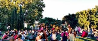 Ir al evento: Yoga en el Templo de Debod